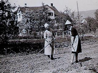 Im Herner Horgen um 1942