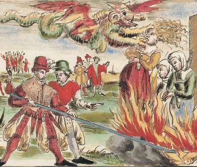 Hexen-Verbrennung