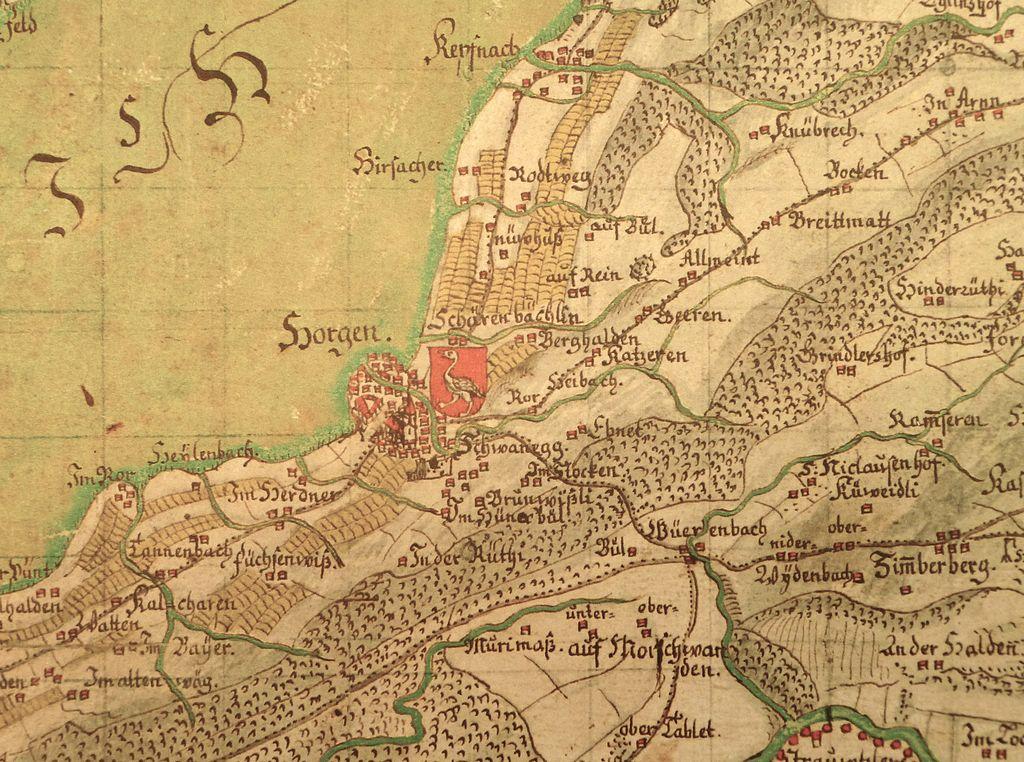 Horgen anno 1667
