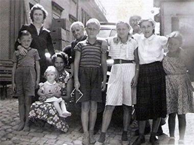 Besuch in Urnäsch 1953