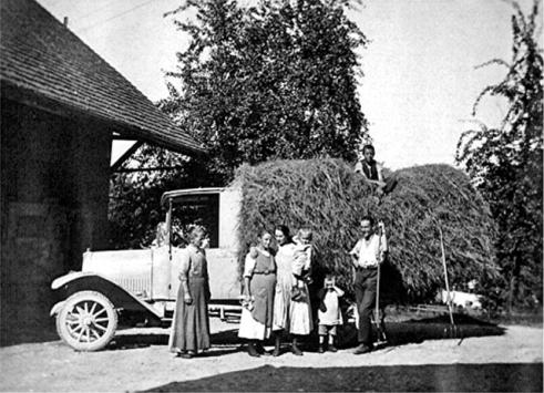 Motorlastwagen Presto Chemnitz um 1930