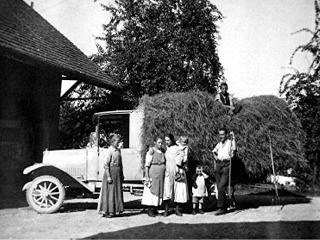 Presto Motorlastwagen um 1930