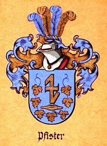 Wappen Pfister von Schönenberg